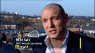 Stuart Lancaster made permanent England Rugby coach Ben Kay interview SOT