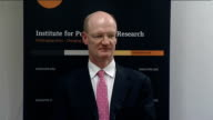 Willetts speech Must highlight routes into higher and further education SOT Willetts answer SOT Young people must know you don't have to pay upfront...