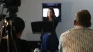 Student presentation to panel