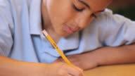CU TD Student taking standardized test / Richmond, Virginia, United States