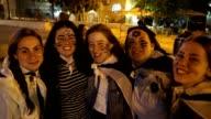 Students give a shout out for the 50th Celebration of Jerusalem