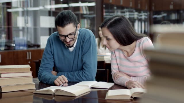 Students In The Reading Room