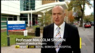 Study finds no link between mobile phone use and cancer ENGLAND Berkshire Reading EXT Professor Malcolm Sperrin LIVE interview SOT This adds extra...
