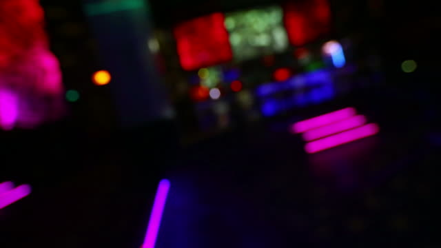 POV Stumbling Through Nightclub