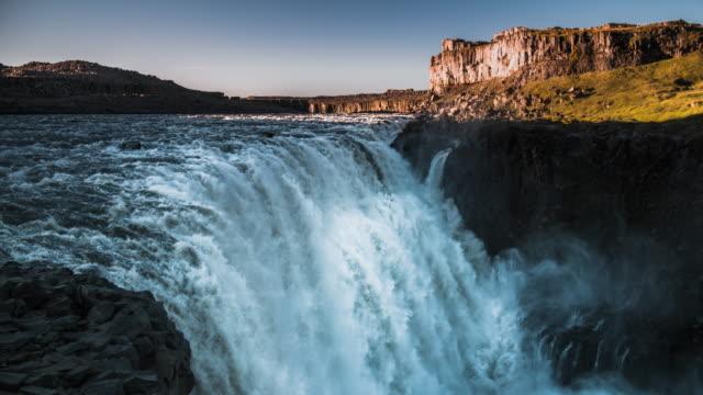 Stunning waterfall Dettifoss in Iceland