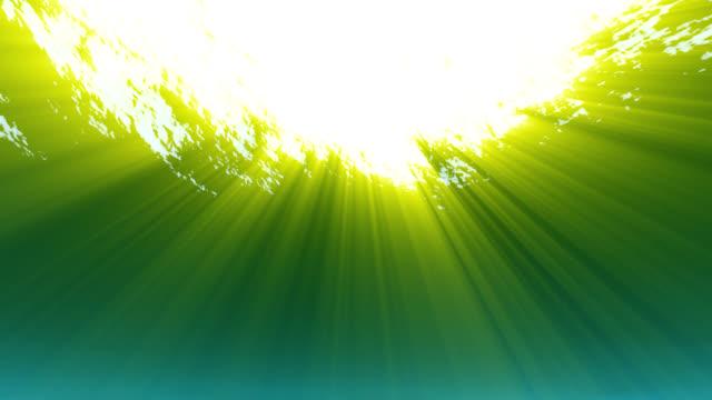 Stilvolle Unterwasser (grün