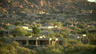 WS, Suburban houses, Phoenix, Arizona, USA