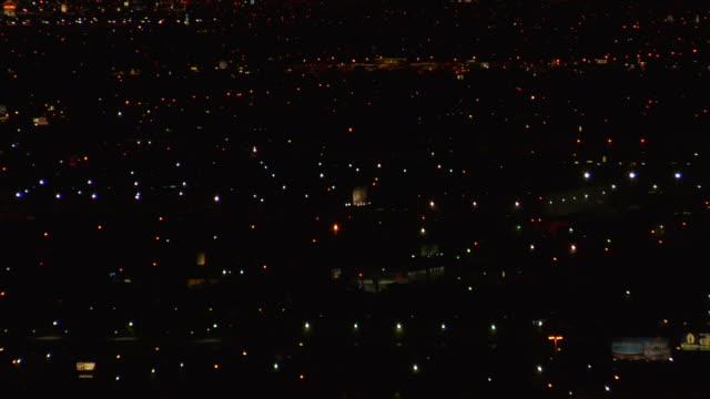 Vororten bei Nacht