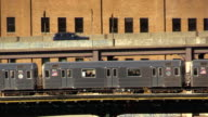 Subway 7 Train in Long Island City Queens