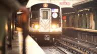 subway platform wait