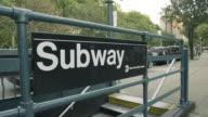 Subway Station dolly shot
