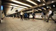Subway Terminal time lapse