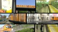 METROPOLITANA-La stazione della metropolitana