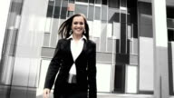 HD SLOW-MOTION: Successful Business Woman