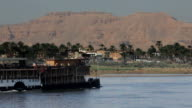Sudan Paddle Steamer on the River Nile