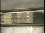 Sudanese ambassador to be expelled FO CMS 'Foreign Commonwealth Office' plaque