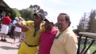 Sugar Ray Leonard Alfonso Ribeiro Richard Karn at The 7th Annual George Lopez Celebrity Golf Classic Presented By Sabra Salsa at Lakeside Golf Club...