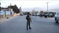 A suicide bomber blows himself up near a cricket stadium in the Afghan capital Kabul killing three people including a policeman and wounding five...