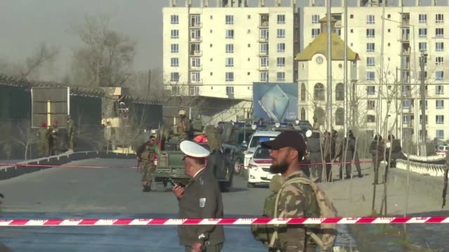 A suicide bomber has blown himself up near the defence ministry building in Kabul causing casualties according to officials hours after an attack in...