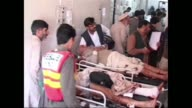 A suicide bomber targeting members of an antiTaliban militia at a funeral in northwestern Pakistan killed 37 people and wounded at least 45 others on...