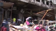A suicide car bomb blast ripped through a busy commercial street in a southeastern neighbourhood of Baghdad al Jadida in the Iraqi capital on...