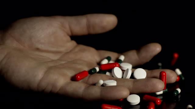 HD SLOW MOTION: Suicide Overdose