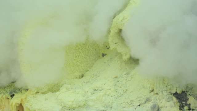 MS Sulfur mine / Ijen, Java, Indonesia