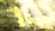 Sulfur Mine Khawa Ijen Indonesia