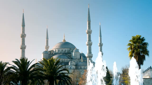 Sultan Ahmet/Blaue Moschee in Istanbul, Türkei