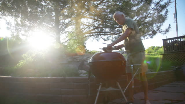 Summer Grilling at Sunset