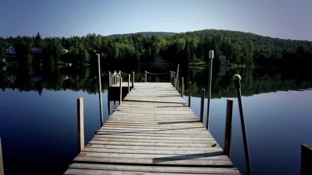 Summer lake lanscape