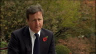 G20 summit David Cameron interview Ship Q you can't be satisfied with police response David Cameron interview SOT my first concern was for safety of...