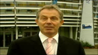 Tony Blair speaking to press on Afghanistan You've got a NATO force of 30000 in Afghanistan ten and a half billion dollars of money pledged it's...