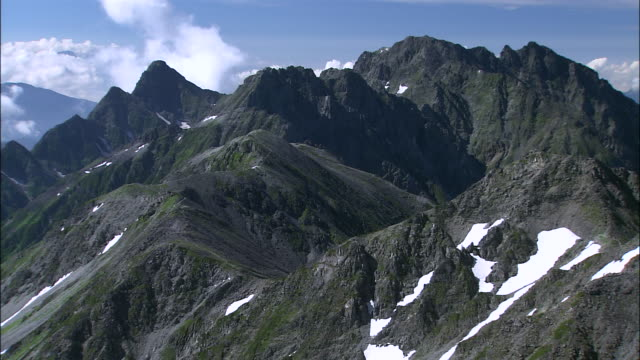 Summit of Hodaka mountain range, Nagano, Gifu