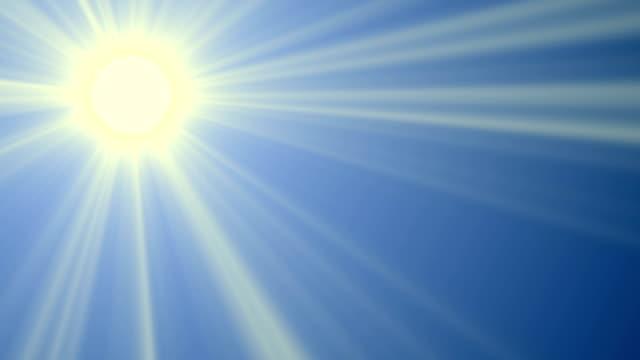 Sonne, Platz für Text, Endlos wiederholbar