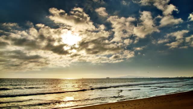 Sole e mare nel cloud