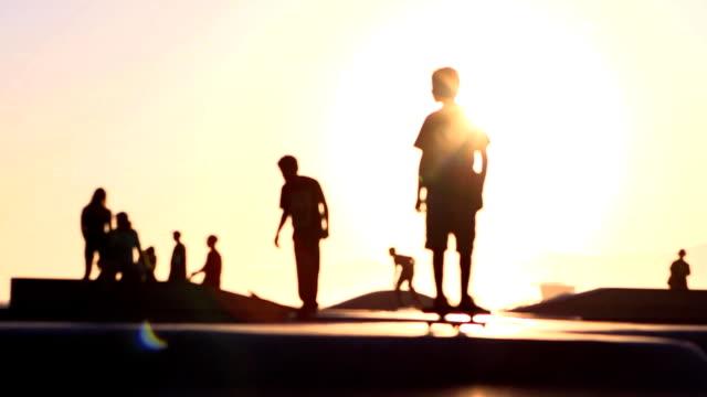 Sun Skateboard Soft Focus