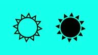 Sun - Vector Animate