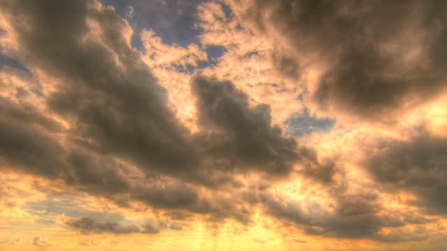 Sunbeam and Clouds motion