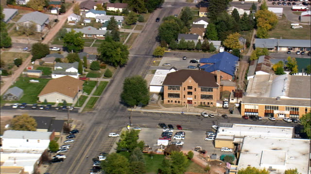 Sundance  - Aerial View - Wyoming, Crook County, United States