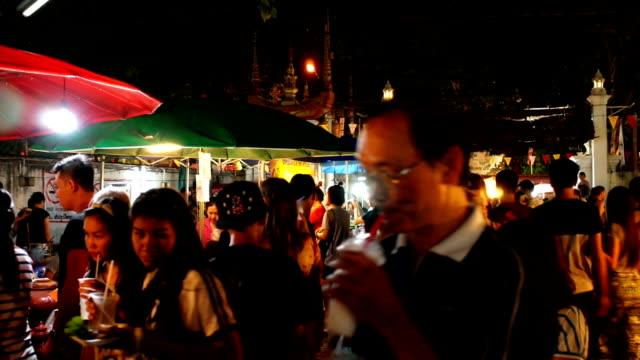 Sunday night market walking street