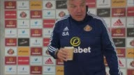 Sunderland reacts to questions of what they knew of the guilt of Adam Johnson ENGLAND Sunderland Stadium of Light INT Sam Allardyce to table for...