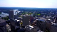 Sunny Aerial View of The City of Richmond