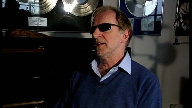 Sunretinal implants restore degree of sight to blind man Robin Millar interview SOT Talks of the criteria for taking part in the trial of the implant...