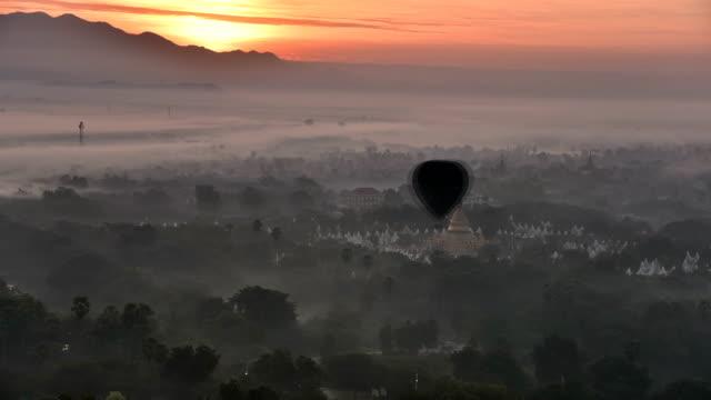sunrise at Mandalay Hill