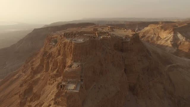 sunrise at Masada / Southern Judea Desert