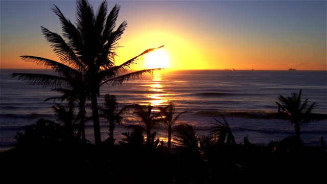 Sunrise at the Indian Ocean
