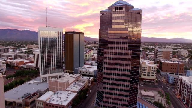 Sunrise downtown Tucson, Arizona
