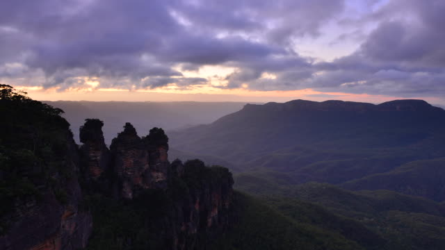 Sunrise from Blue Mountains national park