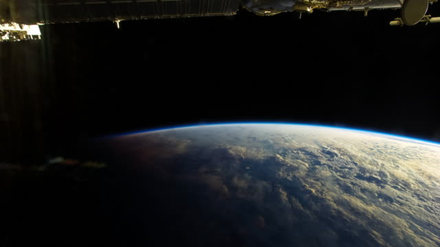 Sunrise From Space - Timelapse